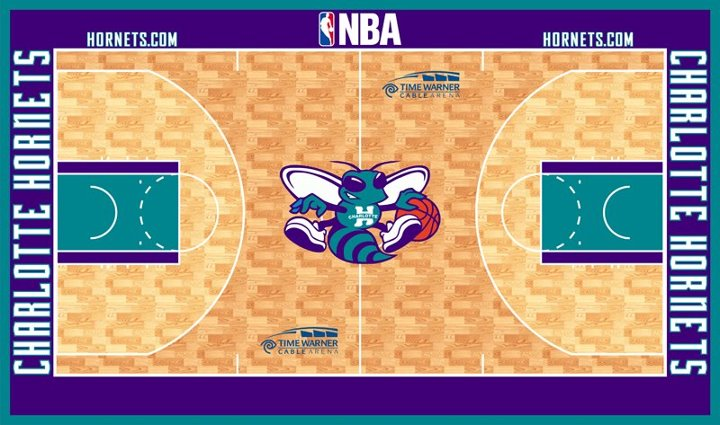 Possible Charlotte Hornets 2013-2014 Uniforms, Logo, and Court (5/6)