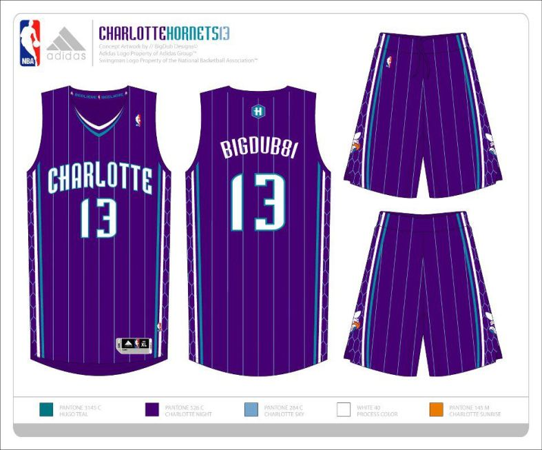 Hornets Purple