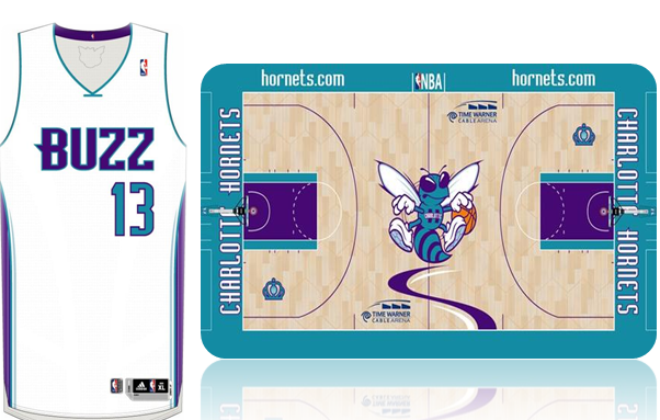 Jersey and Court concept!