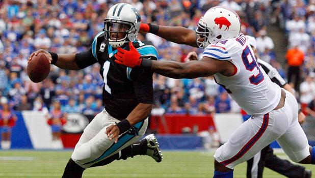 Panthers Bills Football
