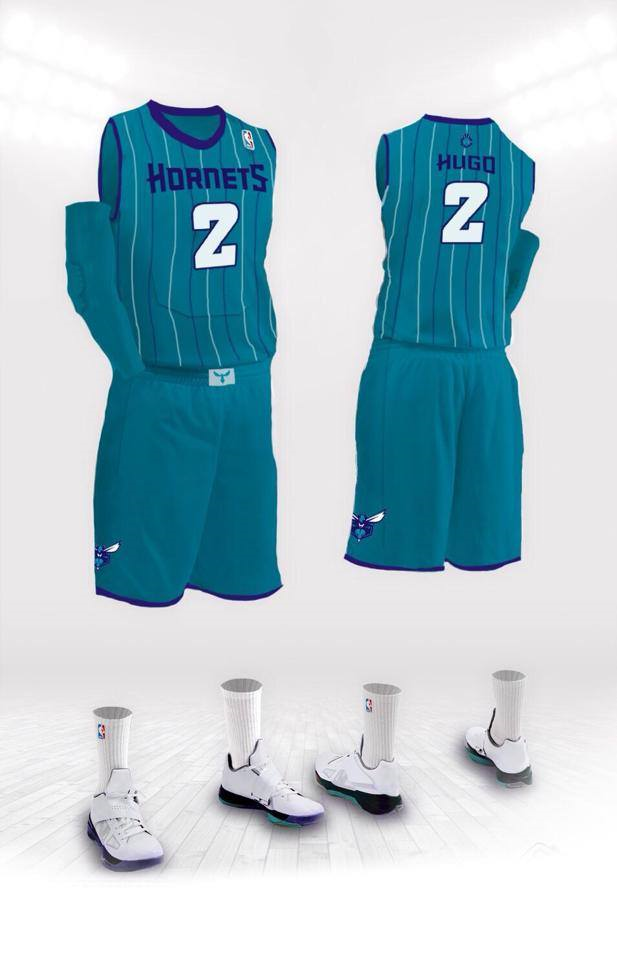 941c7919b Dont Expect The New Charlotte Hornets Uniforms To Be On Sale 6 19 ...