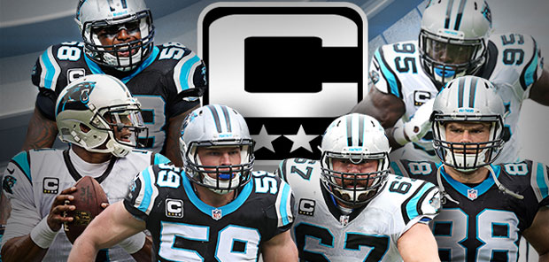 The Panthers re-elect their 6 team captains from last season. [Image via Panthers.com]