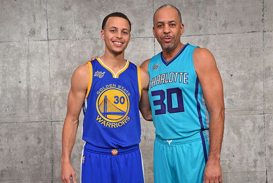 Steph & Dell via NBA.com