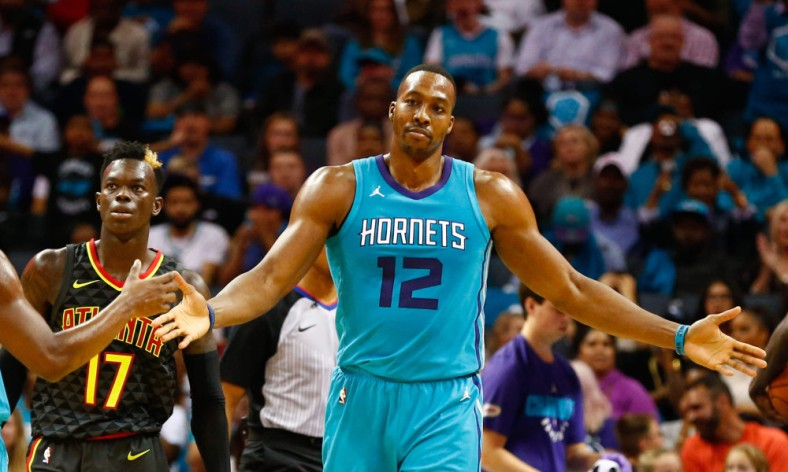 USP NBA: ATLANTA HAWKS AT CHARLOTTE HORNETS S BKN CHA ATL USA NC