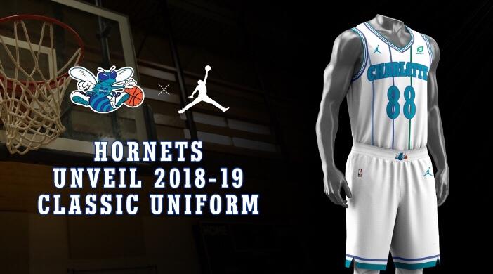 Hornets Unveil White Throwback for 2018-19 Season  bf4ea4cb1