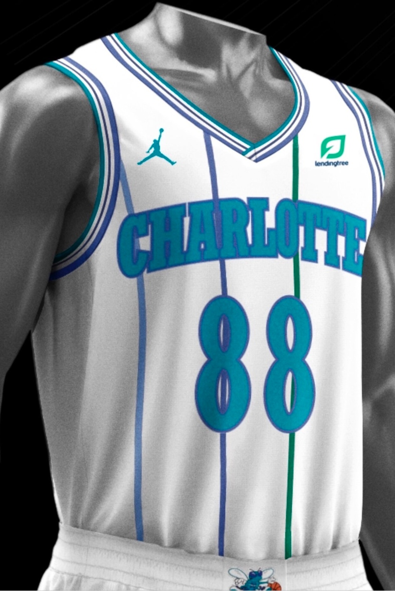 cheap for discount 39170 e32d3 Hornets Unveil White Throwback for 2018-19 Season   Bring ...